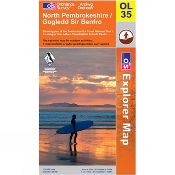 Active Explorer Map OL35 North Pembrokeshire