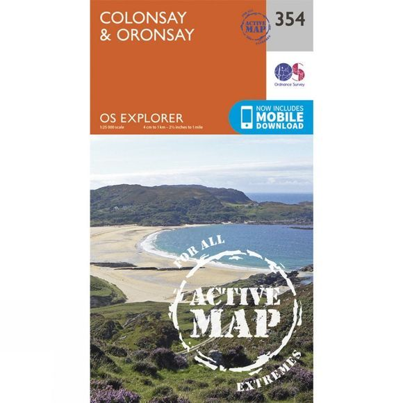 Active Explorer Map 354 Colonsay and Oronsay