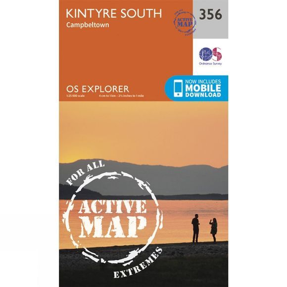 Active Explorer Map 356 Kintyre South