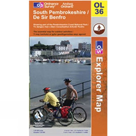 Active Explorer Map OL36 South Pembrokeshire
