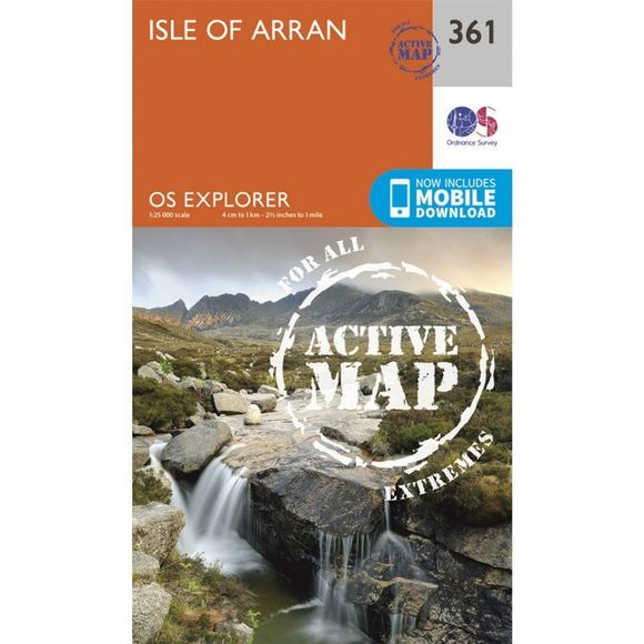 Active Explorer Map 361 Isle of Arran