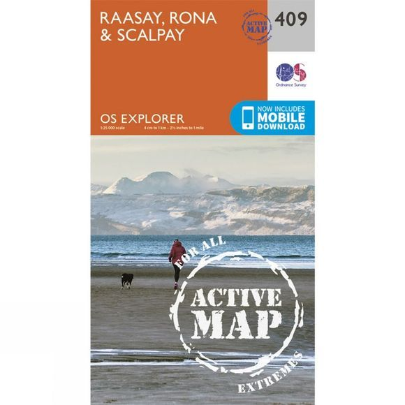 Active Explorer Map 409 Raasay, Rona and Scalpay