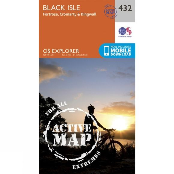 Active Explorer Map 432 Black Isle