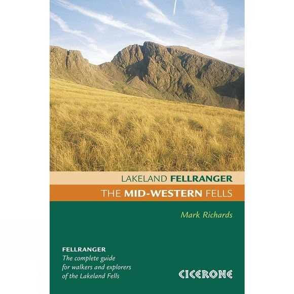 Cicerone The Mid-Western Fells: Lakeland Fellranger No Colour
