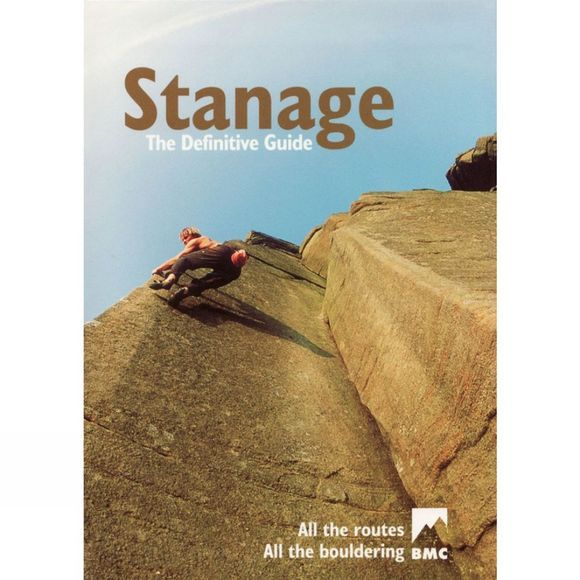 British Mountaineering Council Stanage: The Definitive Guide No Colour