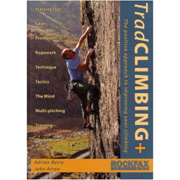 Rockfax Trad Climbing+ No Colour