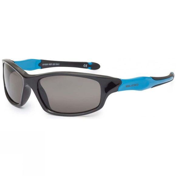 Bloc Kids Spider Sunglasses Black/Blue