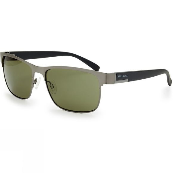 Bloc Deck Sunglasses Mid Grey       /Green