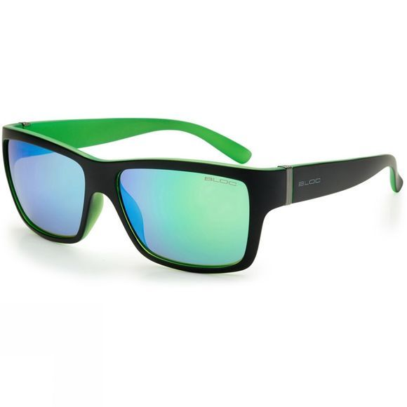Bloc Riser Sunglasses Black          /Green