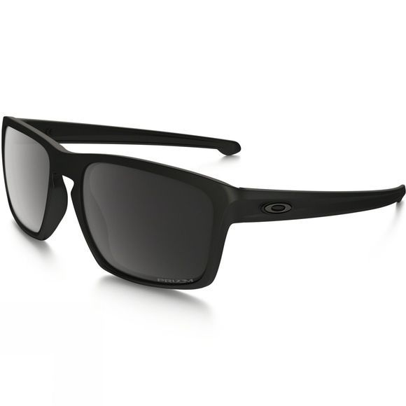 Oakley Silver Matt Black/Prizm Black Polarized