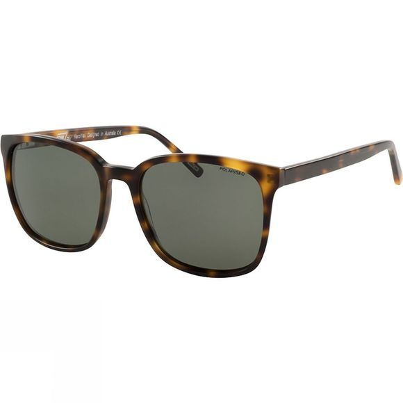 Dirty Dog KeroWax Sunglasses Demi/Green Polarised