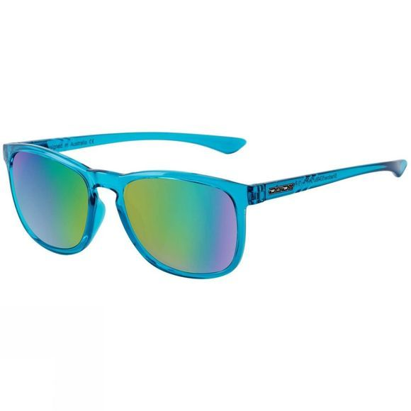 Dirty Dog Shadow Sunglasses Crystal Blue/Blue Mirror Polarised