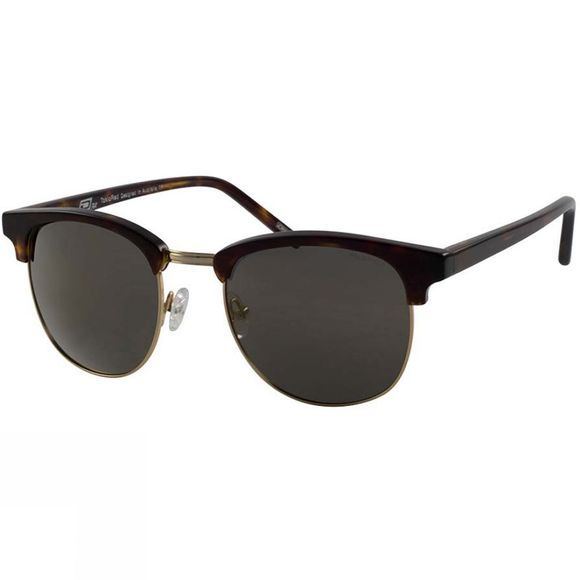 Dirty Dog TokioRed Sunglasses Tort/ Gold Flash Mirror Polarised