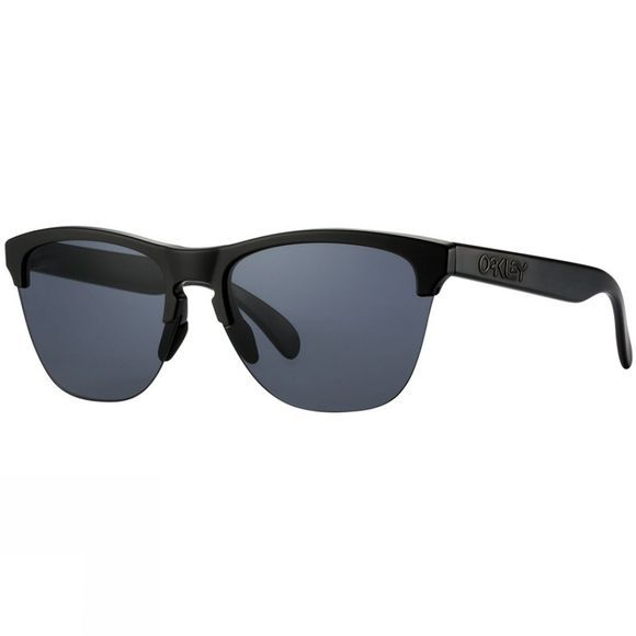 Oakley Frogskins Lite Sunglasses Matt Black/Grey