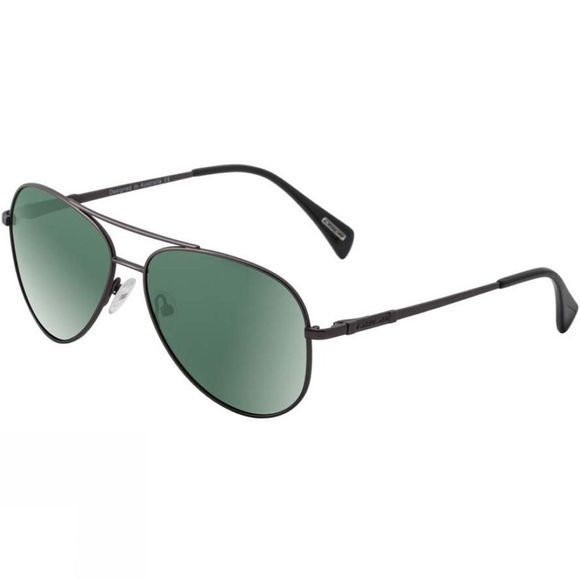 Dirty Dog Maverick Sunglasses Gunmetal/Green Polarised