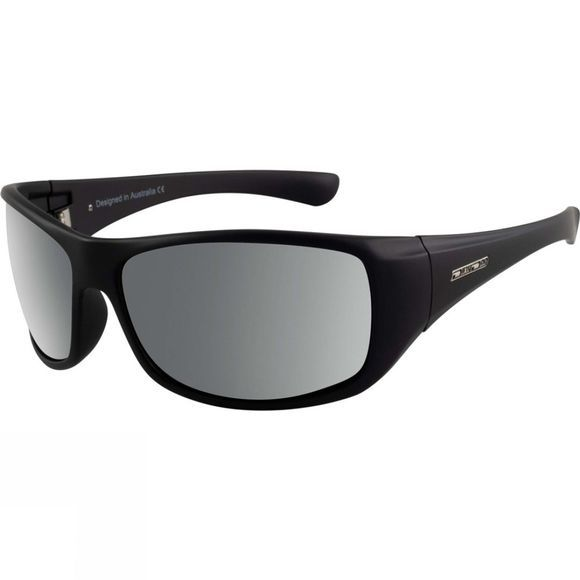 Dirty Dog Quench Sunglasses Black/Green Polarised