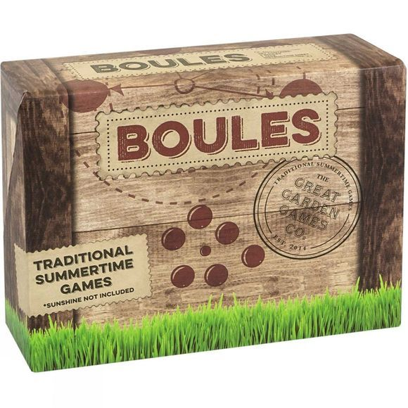 Wooden Boules