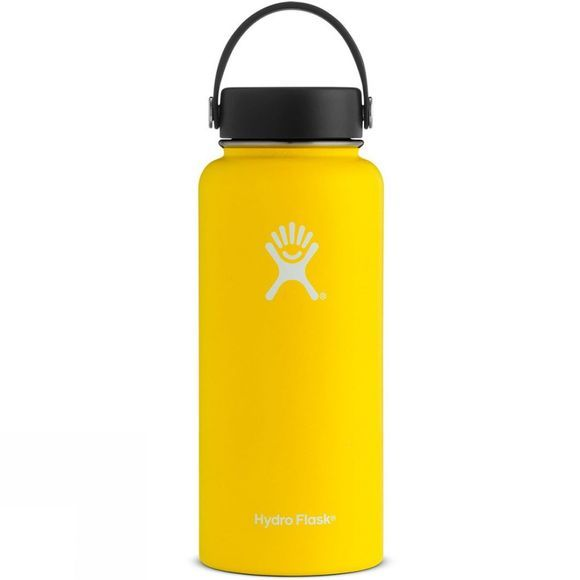 Hydro Flask Wide Mouth 32oz Flask Lemon