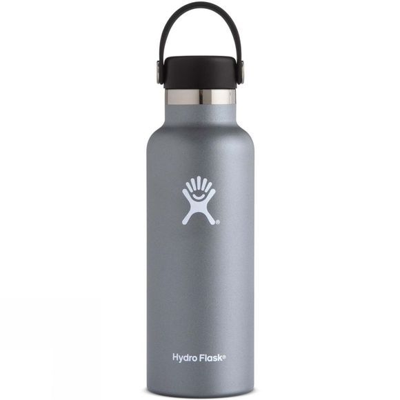 Hydro Flask Standard Mouth 18oz with Flex Cap Graphite