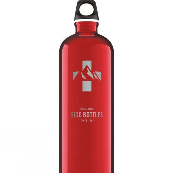 Sigg Traveller Mountain Bottle 1.0L Mountain Red
