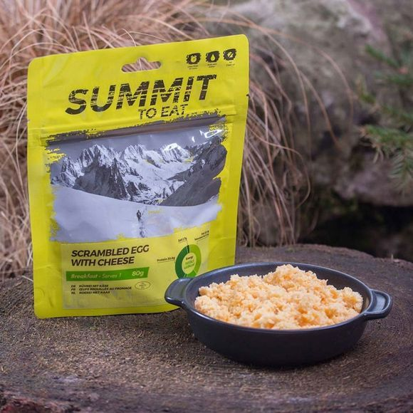 Summit to Eat Scrambled Egg with Cheese No Colour