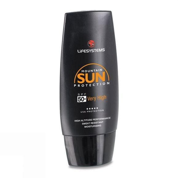 Lifesystems Mountain Formula SPF 50+ Sun Cream 50ml No Colour