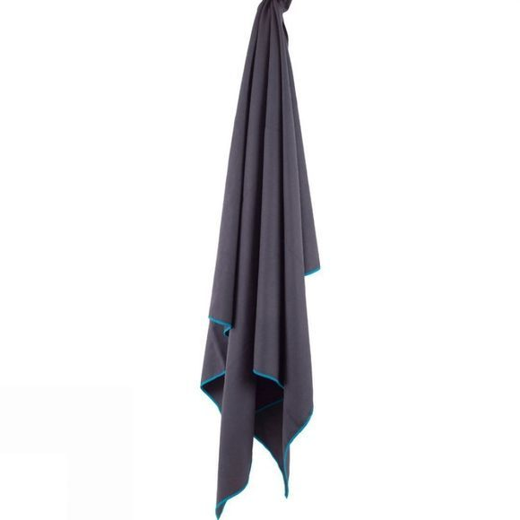 Lifeventure Soft Fibre Light Travel Towel (Large) Grey