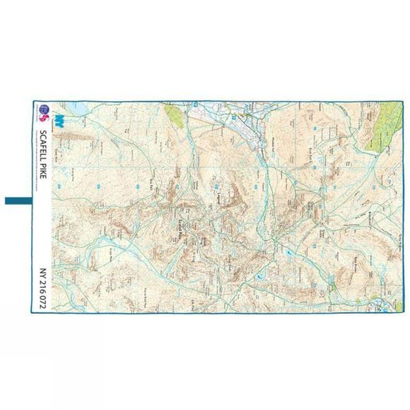 Lifeventure Microfibre Advance Map Scafell Pike