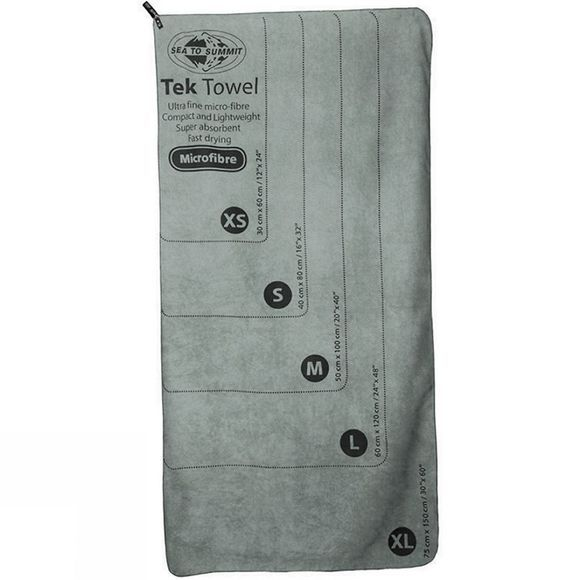 Sea to Summit Tek Towel X Large Grey