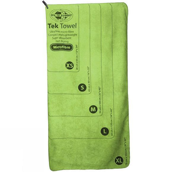 Sea to Summit Tek Towel X Large Lime