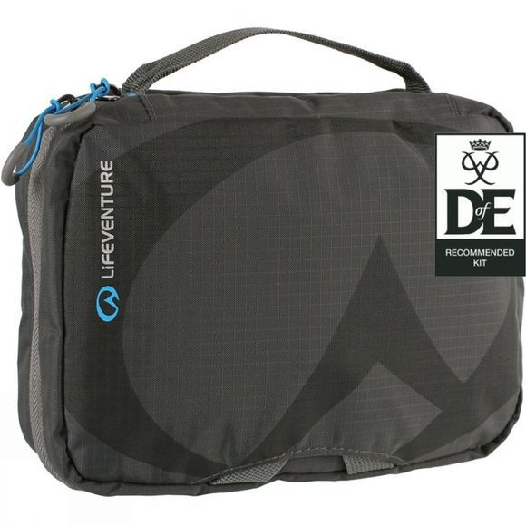 Lifeventure Travel Wash Bag - Small Grey