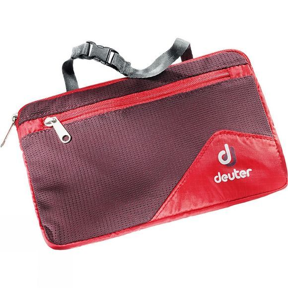 Deuter Washbag Lite II Fire / Aubergine