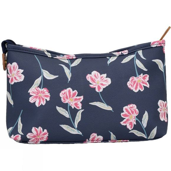 Brakeburn Womens Summer Bloom Wash Bag Navy