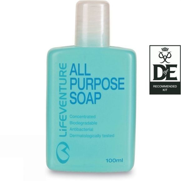 Lifeventure All Purpose Soap 100ml .