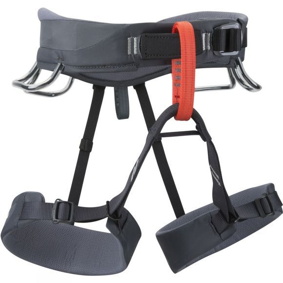 Black Diamond Momentum SA Climbing Harness Graphite