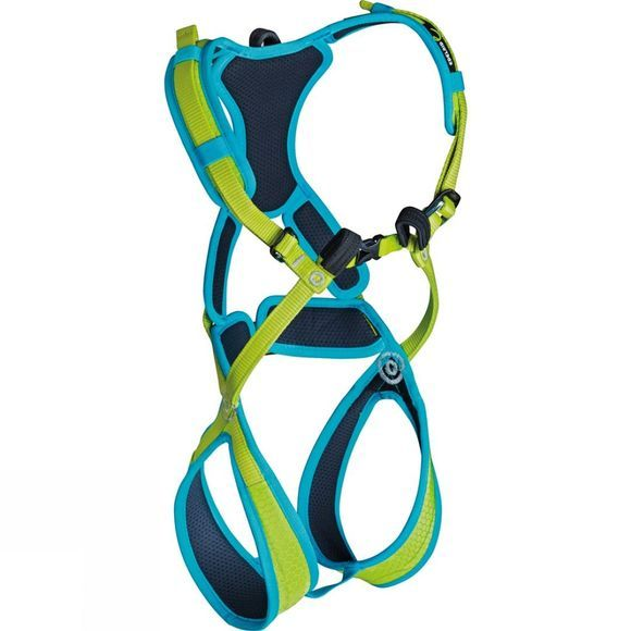 Edelrid Kids Fraggle II Full Body Harness XXS Oasis/Icemint