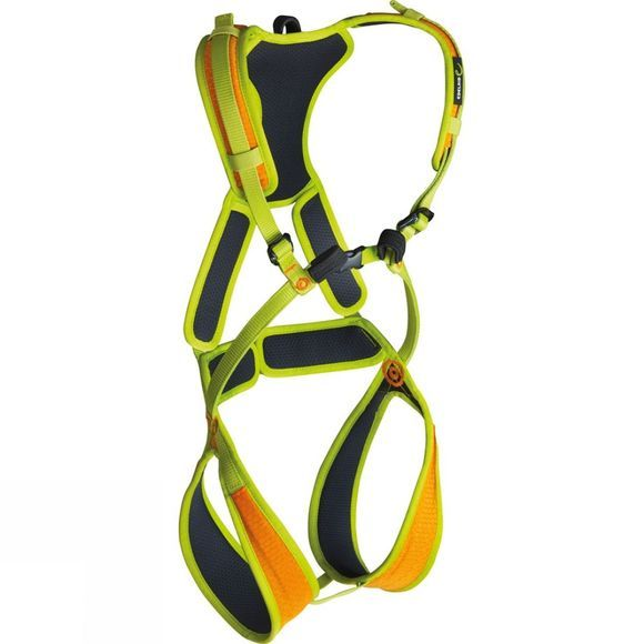 Edelrid Fraggle II Full Body Harness XS Sahara/Oasis