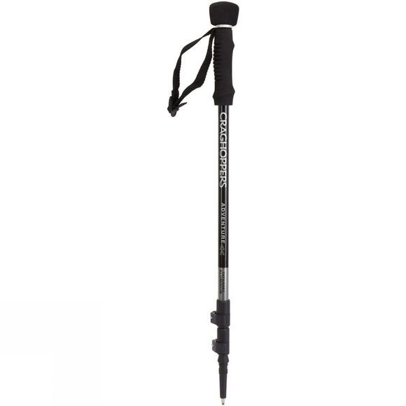 Craghoppers Adventure Pole Twin Walking Poles Black
