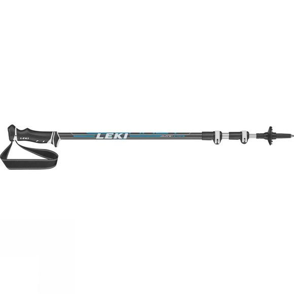 Leki Journey (Single) Trekking Pole Black/Blue