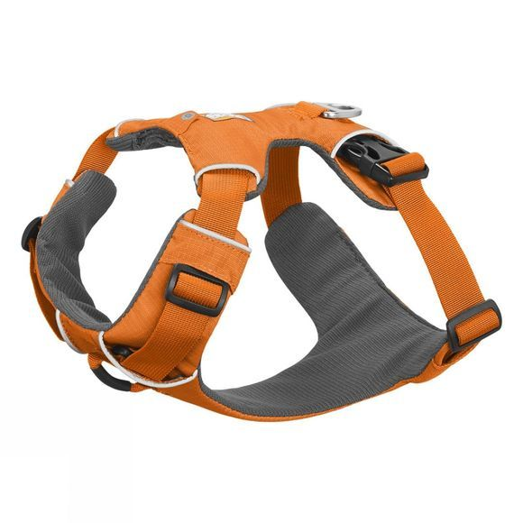 Ruff Wear Front Range Dog Harness Orange Poppy