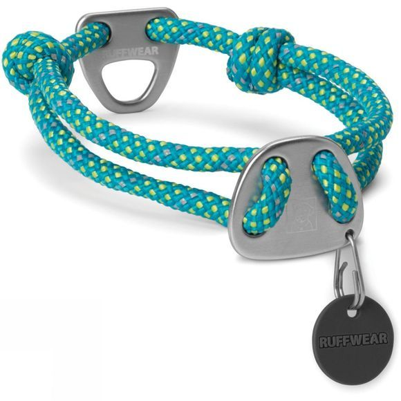 Ruff Wear Dog Knot-a-Collar Blue Spring