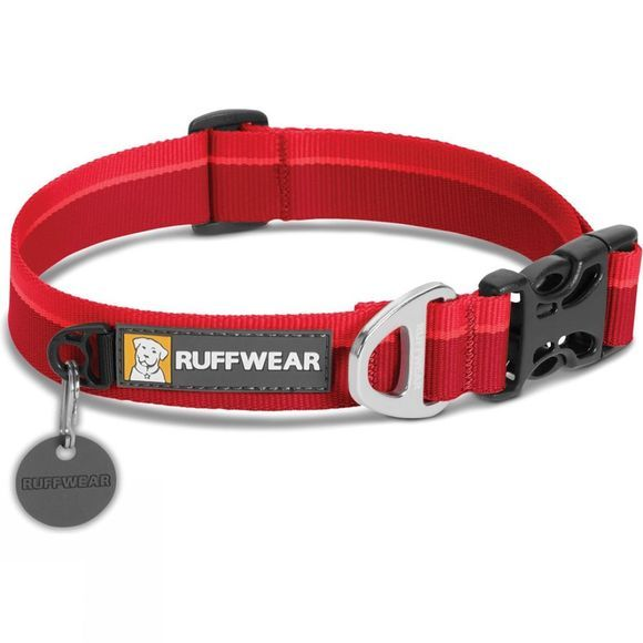 Ruff Wear Hoopie Dog Collar Red Currant