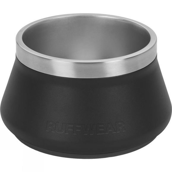 Ruff Wear Basecamp Dog Bowl Obsidian Black