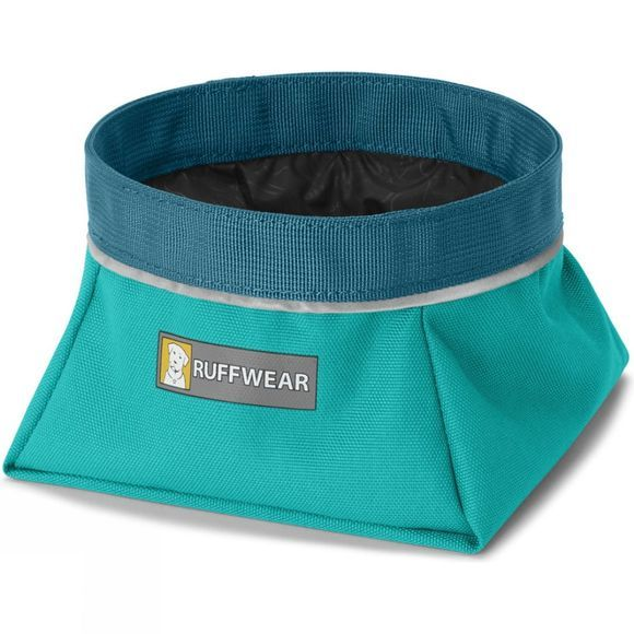 Ruff Wear Quencher Dog  Bowl Meltwater Teal