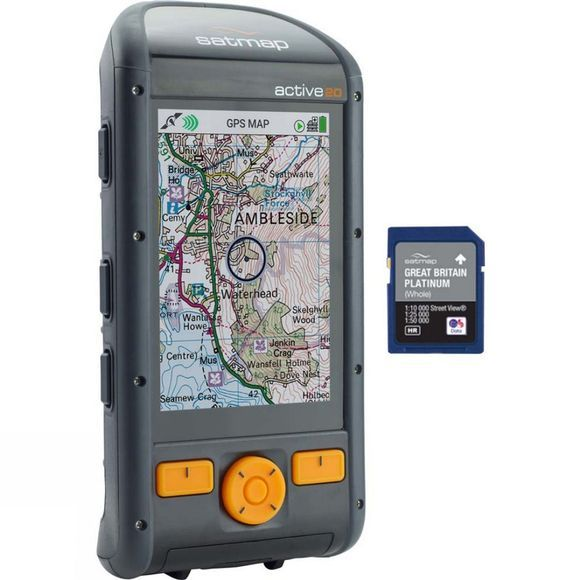 Satmap Active 20 GB Platinum Bundle No Colour