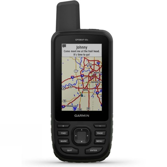 Garmin GPSMAP 66s with Topo GB Pro 1:25K .