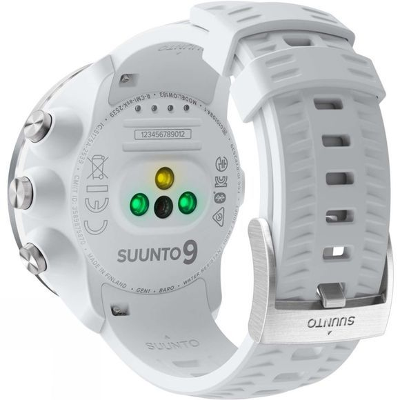 Suunto 9 Baro GPS Multisport Watch + HR Belt Baro White