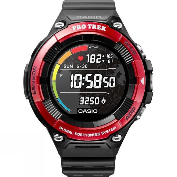 Casio Pro Trek Smart Watch WSD-F21HR Red