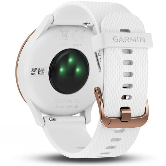 Garmin Vivomove HR Hybrid Smartwatch Rose Gold/White