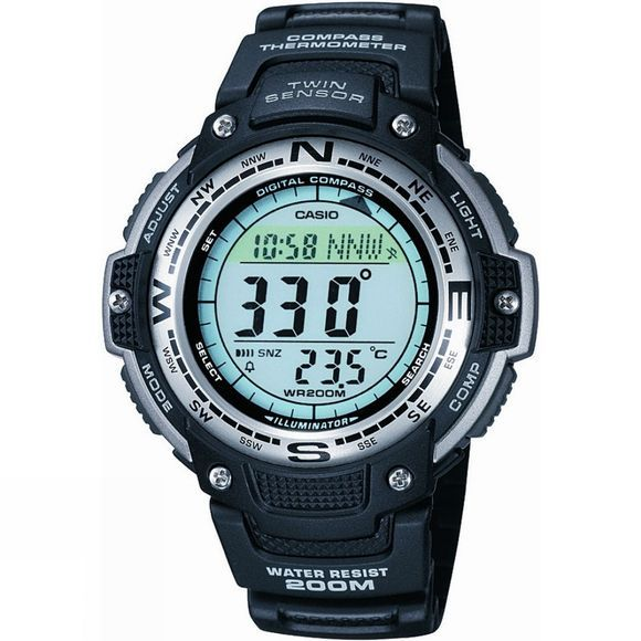 Casio Sports Watch SGW-100-1VEF Black/Silver